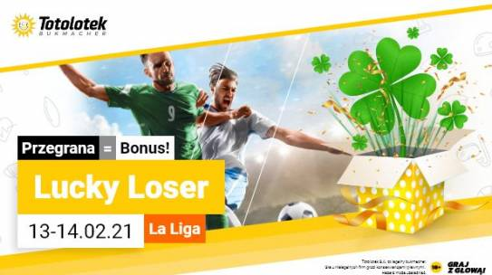 Lucky Loser na hiszpańską LA LIGE od Totolotka