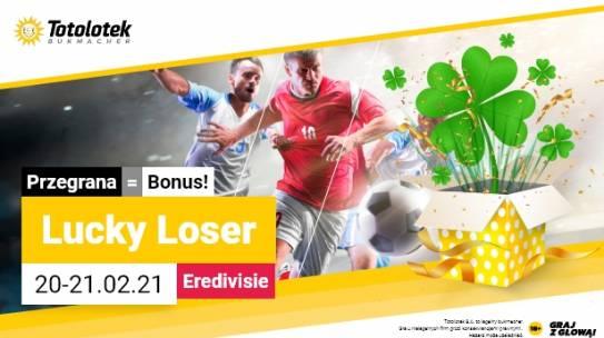 Promocja TOTOLOTKA Lucky Loser 20-21.02.2021 Eredivisie