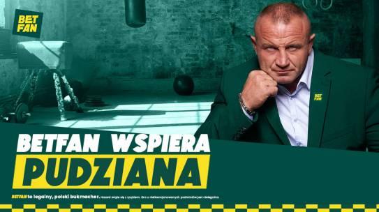 BETFAN wspiera Pudziana przed KSW 59