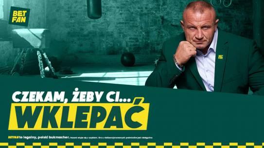 Promocja BETFAN. Wygraj trening z Mariuszem Pudzianowskim i 1 500 zł!