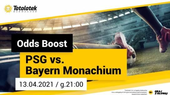Promocja Totolotka PSG vs Bayern Odds Boost