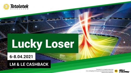 Lucky Loser na LIGĘ MISTRZÓW I LIGĘ EUROPY.