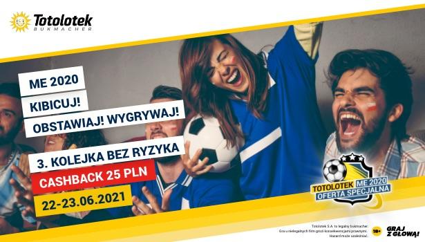 Bonus Lucky Loser 25 PLN EURO 2020