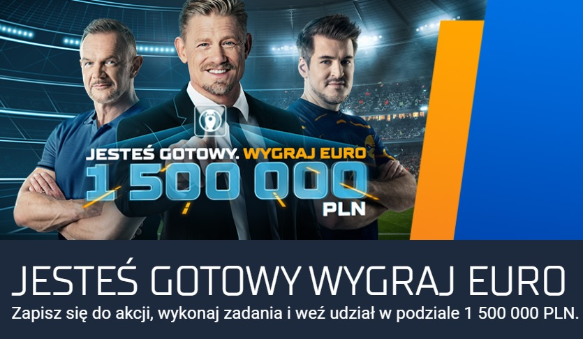 STS na Euro – weź udział w podziale 1 500 000 PLN